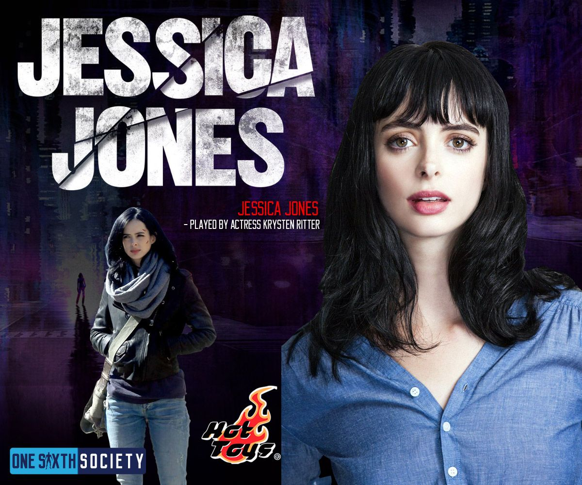 Jessica Jones is part of The Defenders Team