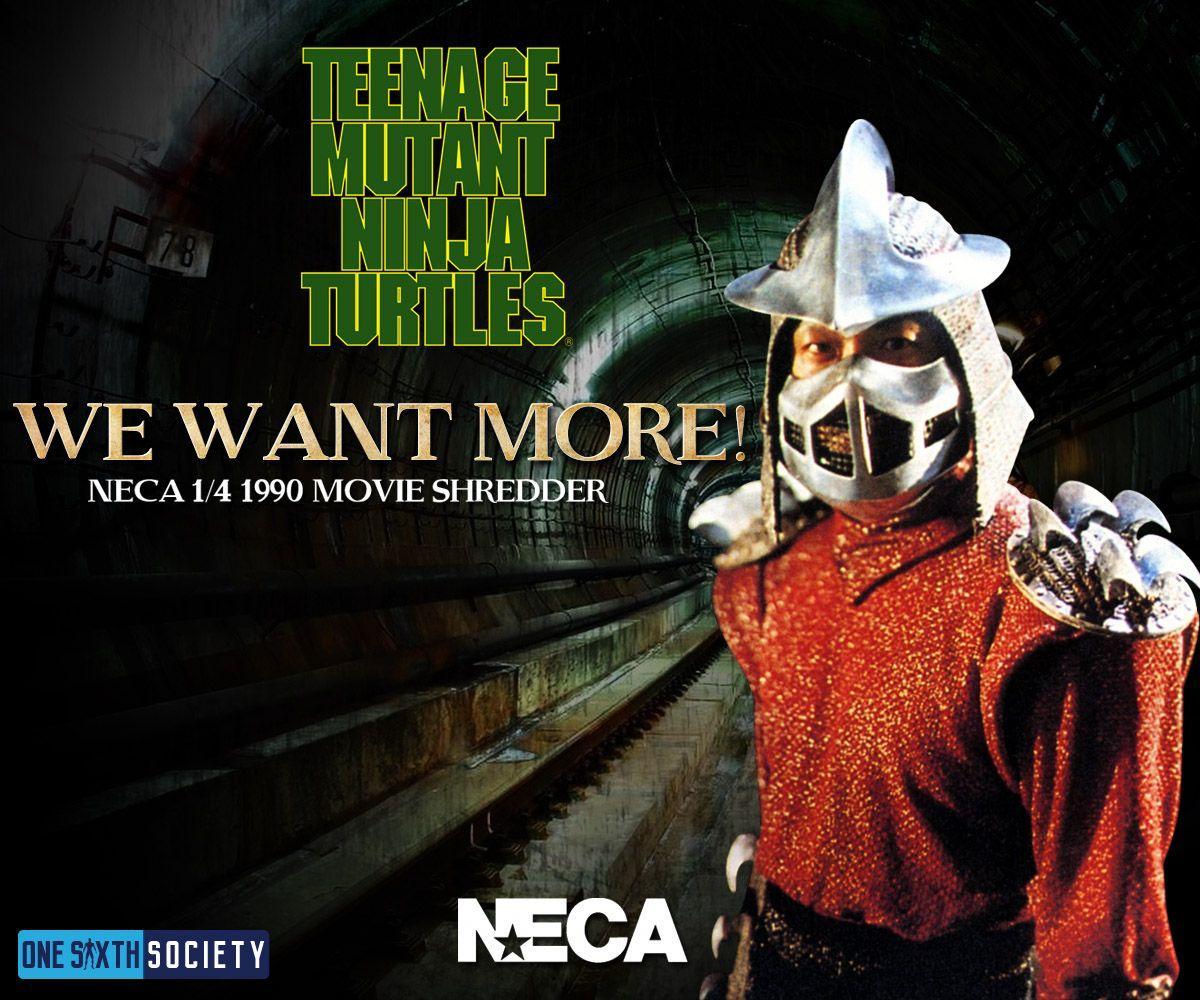 NECA Needs to give us Shredder