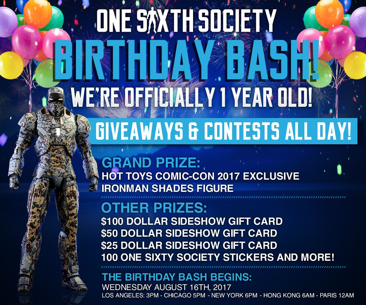 Come Win Some Prizes on our Birthday!