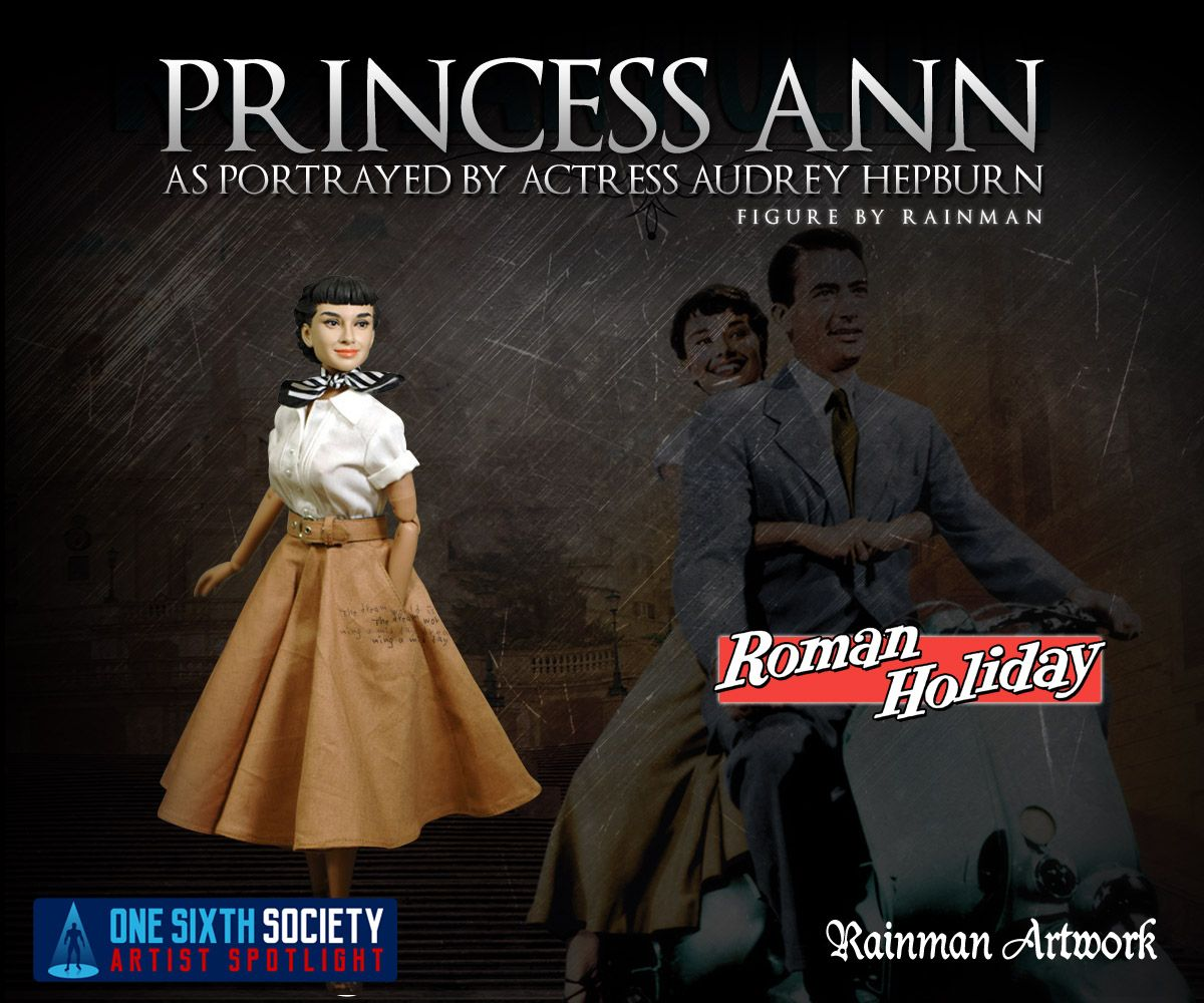 The Rainman Audrey Hepburn Figure is the most stunning figure ever created