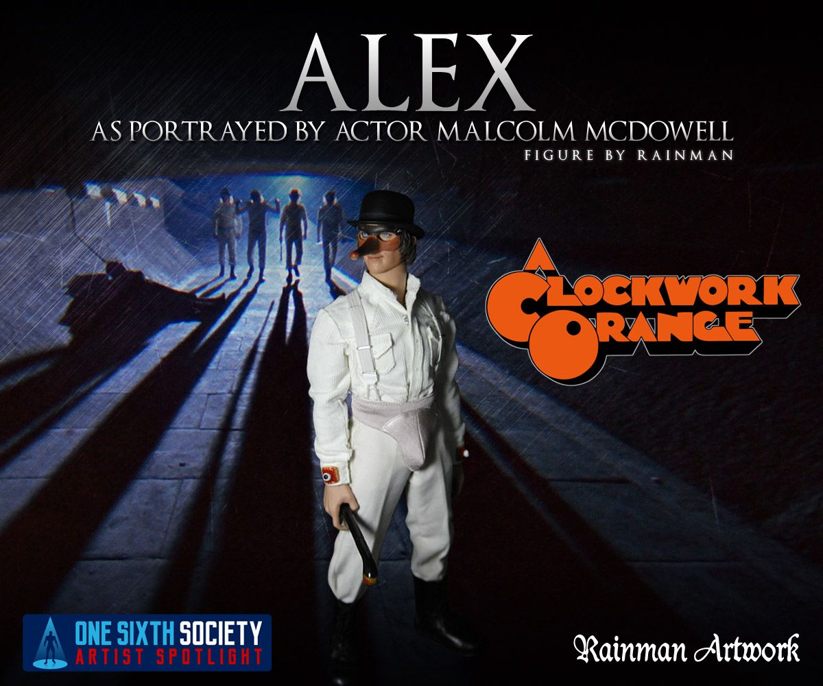 You will love the Rainman Clockwork Orange Figure
