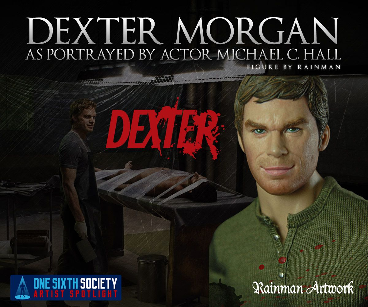 The Rainman Dexter Figure will for sure have Tv show fans talking