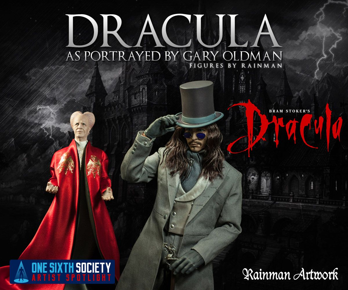 the Rainman Dracula Figures look like they just walked off the screen