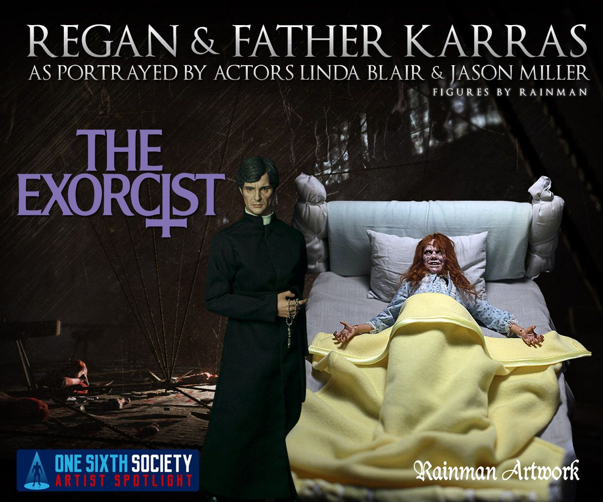 The Rainman Exorcist Figures are like nothing you have ever seen before