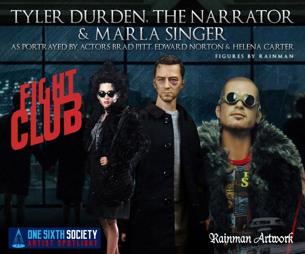 The Rainman Fight Club 1/6 figures will make your eyes pop out