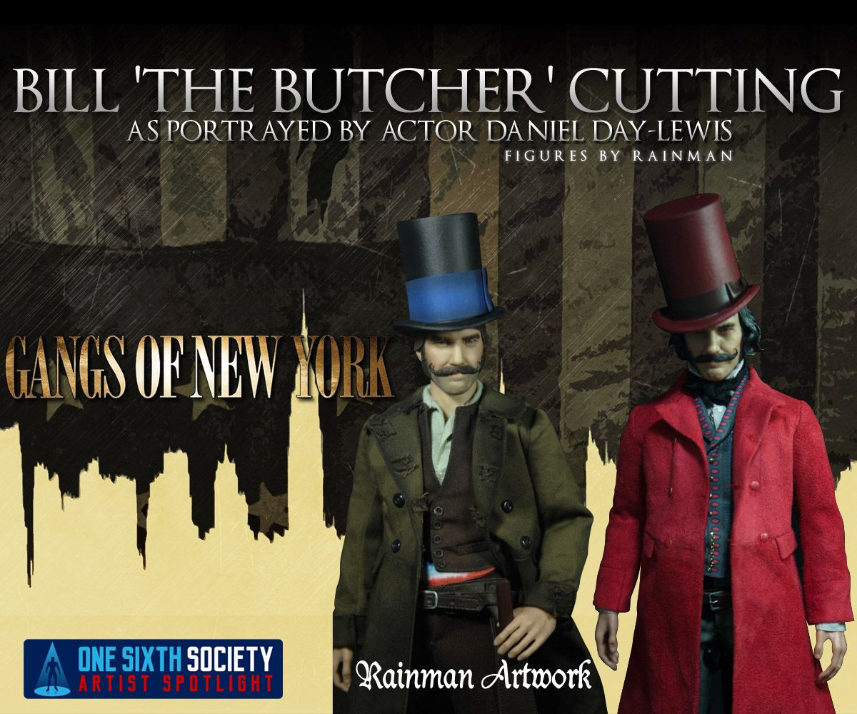 Rainman Gangs Of New York Bill the Butcher Figures are Amazing