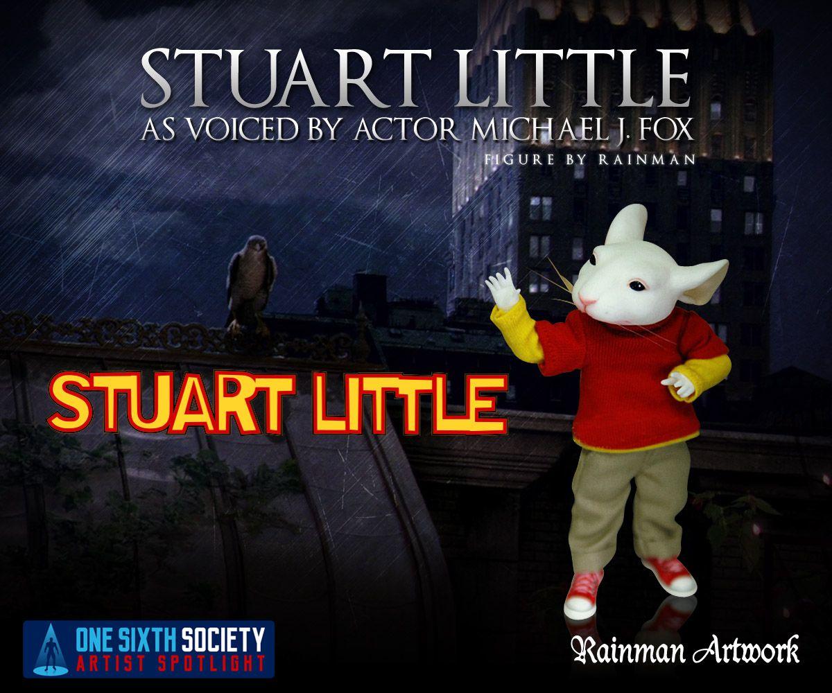 The Custom One Sixth Scale Rainman Little Stuart Little Figure is adorable