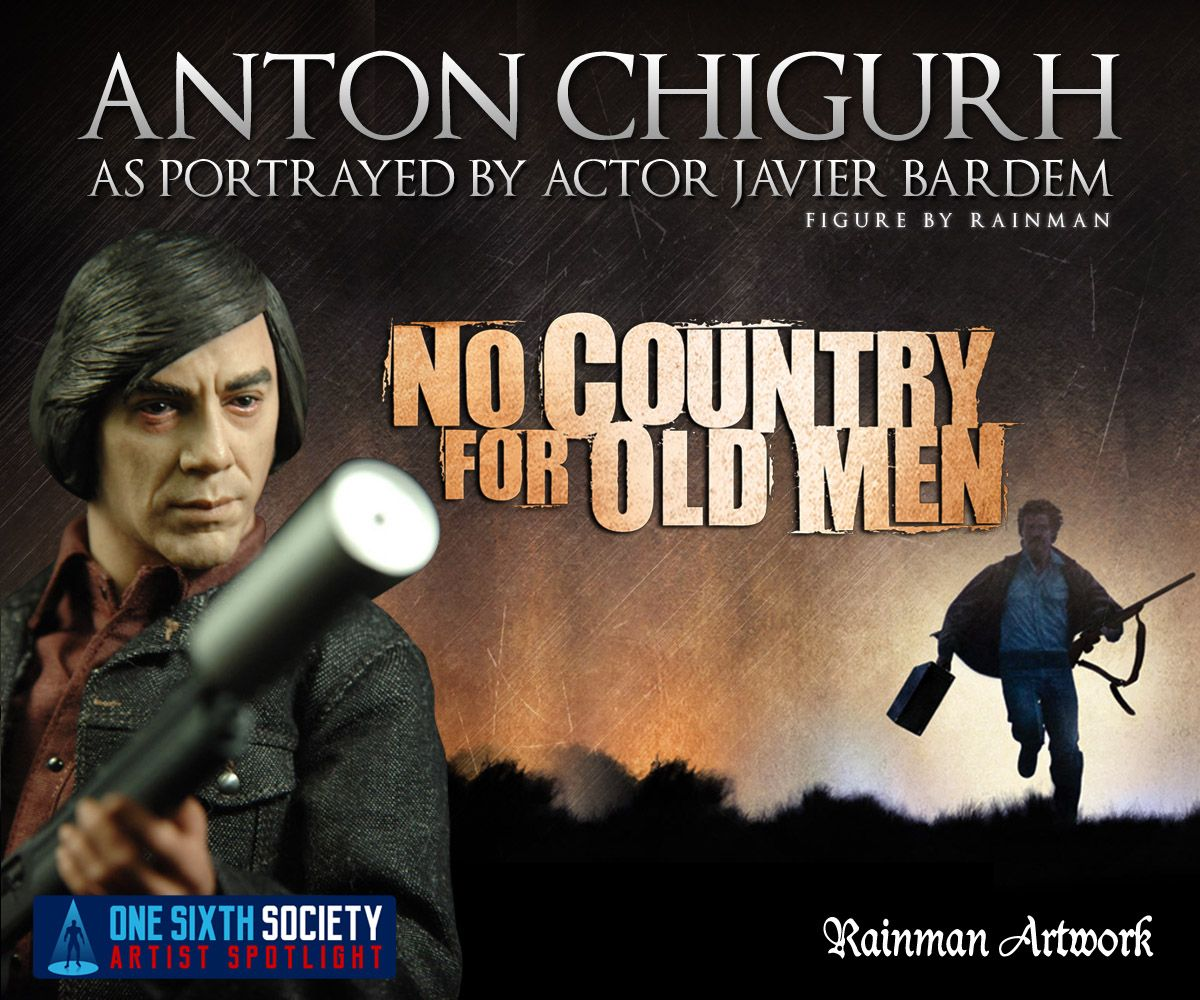 The Rainman No Country For Old Men Figure might be the only one in existence