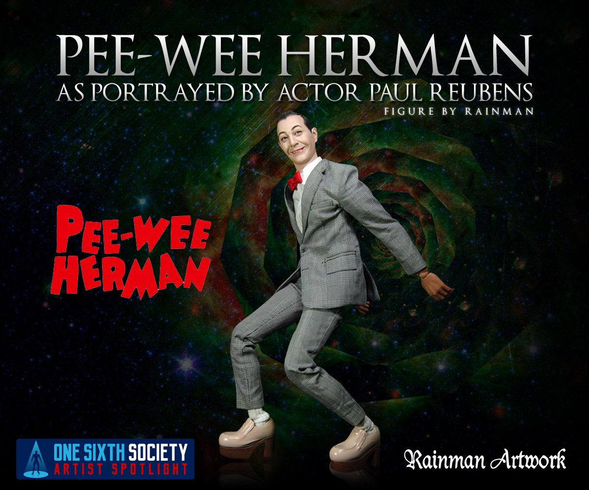 Awesome custom Rainman Pee-Wee Herman Figure
