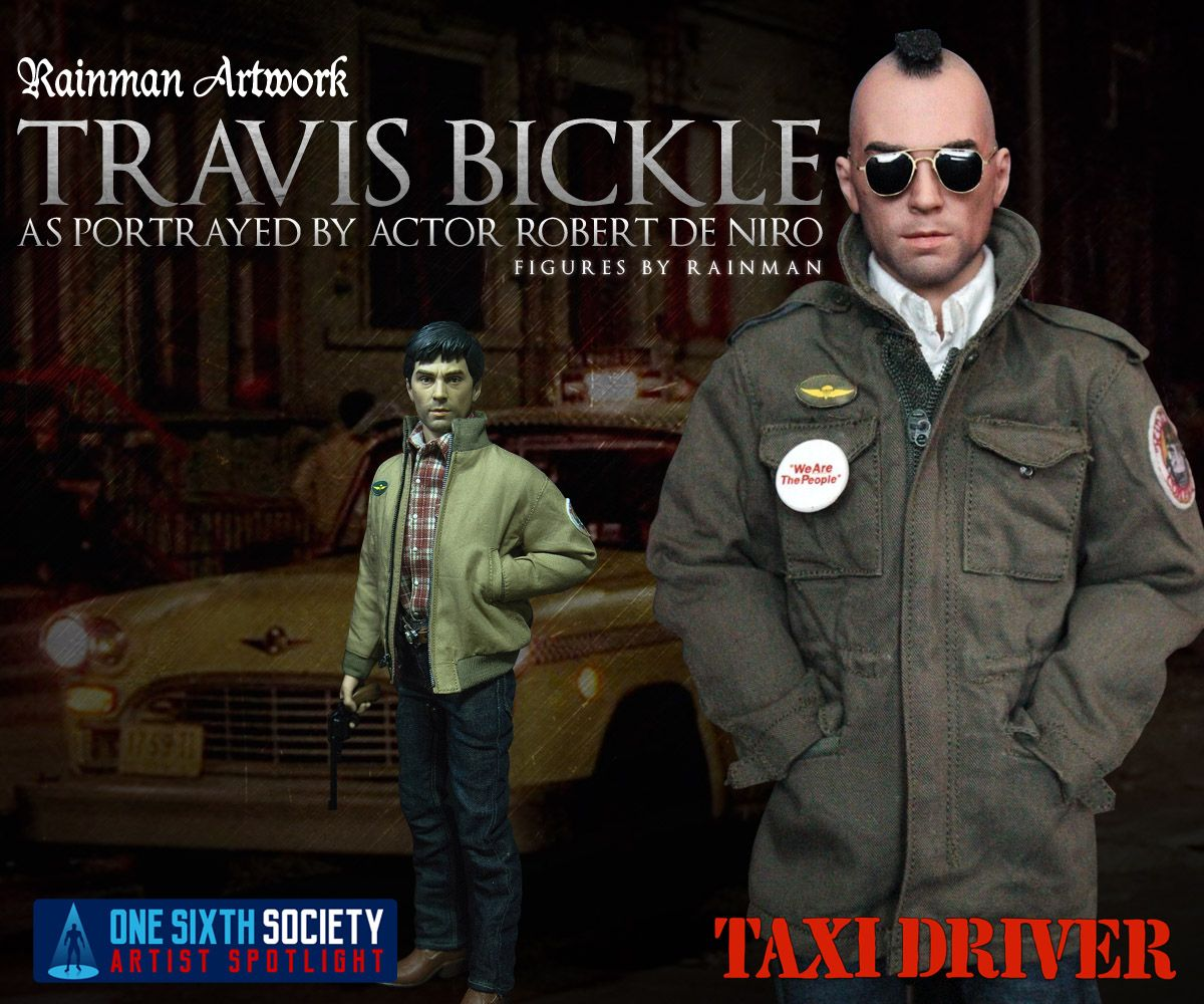 The Rainman Taxi Driver Figures are one of a kind