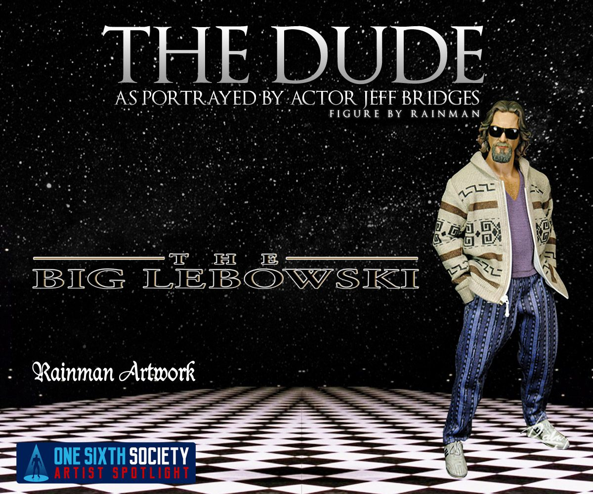 If you're a fan of the Big Lebowski then check out the Rainman The Dude Figure