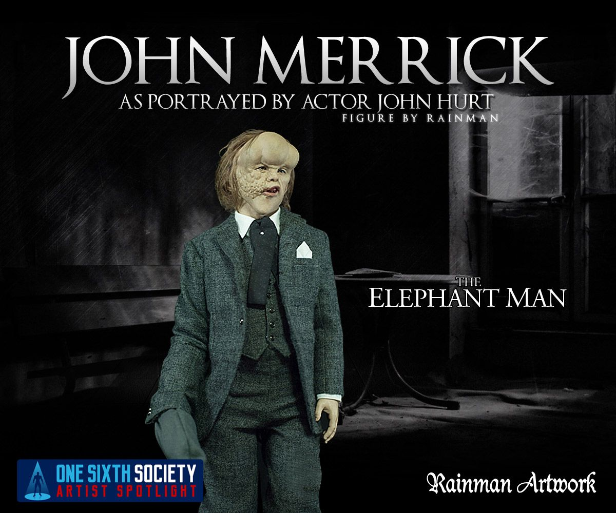 The Rainman Elephant Man Figure is astonishing
