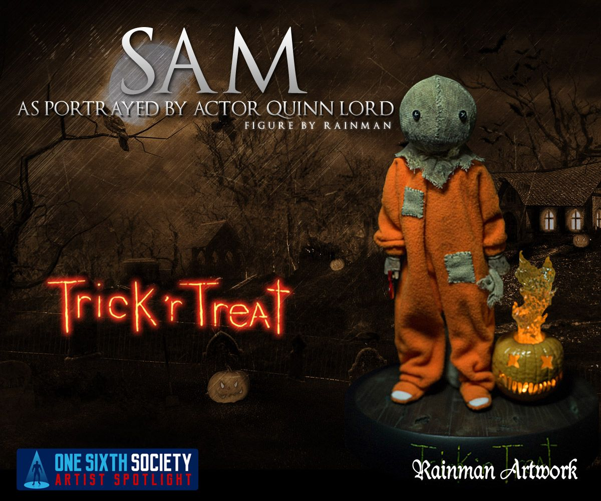 The Rainman Trick R Treat Figure is the best one out there