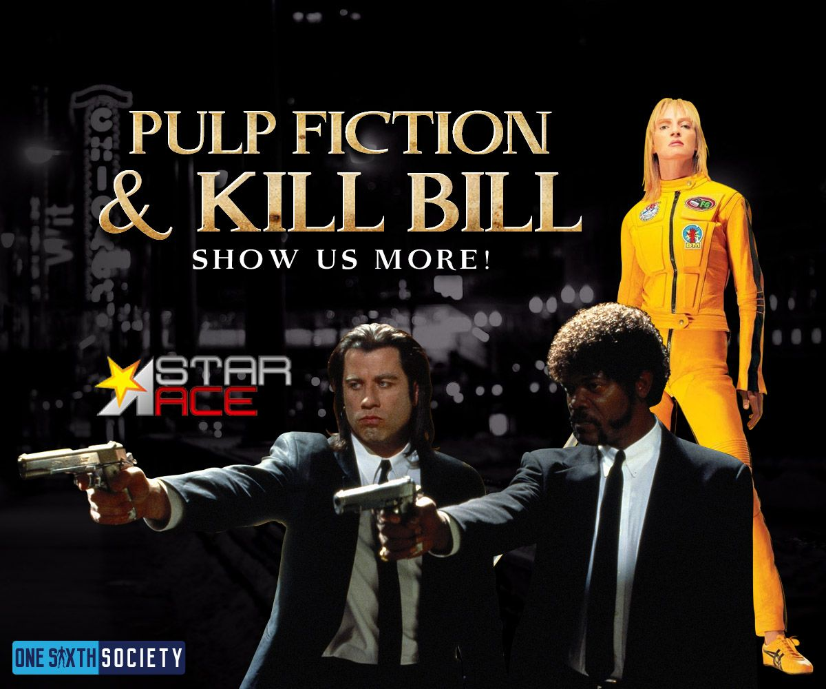 Star Ace Pulp Fiction And Kill Bill Figures should be coming soon
