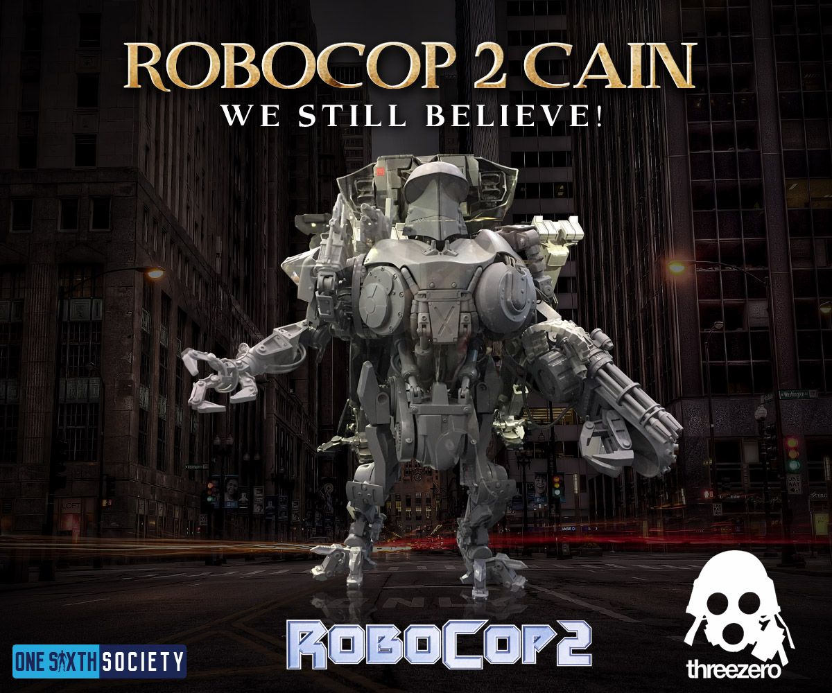 What Happened to the Three Zero Robocop 2 Cain Figure at comic con 2017