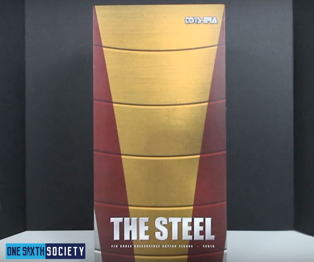 The Toys Era Colossus Sixth Scale Figure Comes in a Nice box