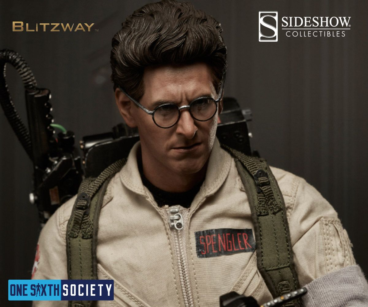 Sideshow is now a distributor for the Blitzway Ghostbusters, including Dr Egon Spengler
