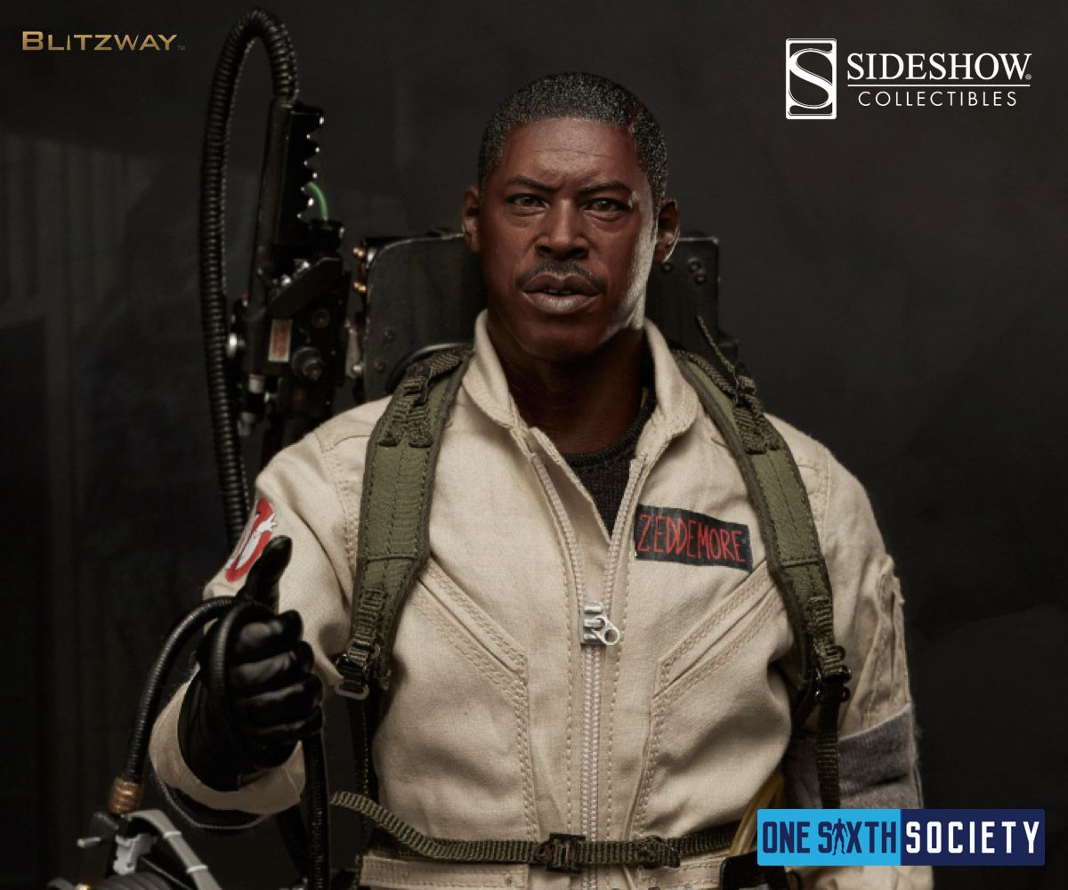 You can now order The Blitzway Ghostbusters Figure Winston Zeddmore from Sideshow