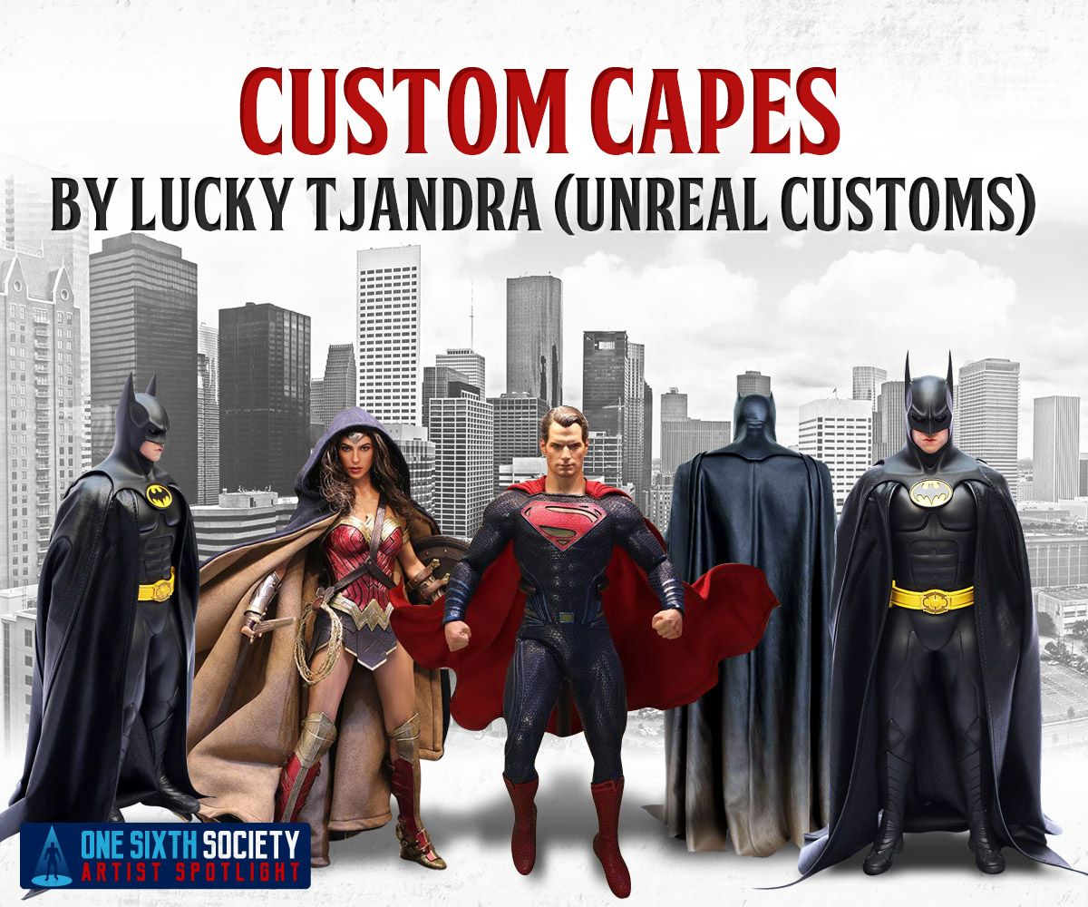 Check Out These Custom 1/6 Capes By Unreal Customs