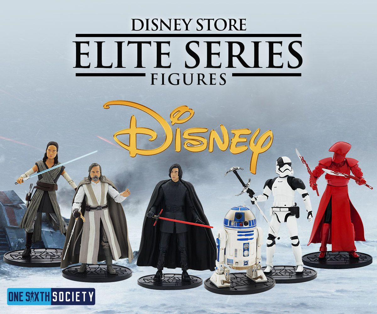 The Disney Elite The Last Jedi Figures are Store only Exclusives!