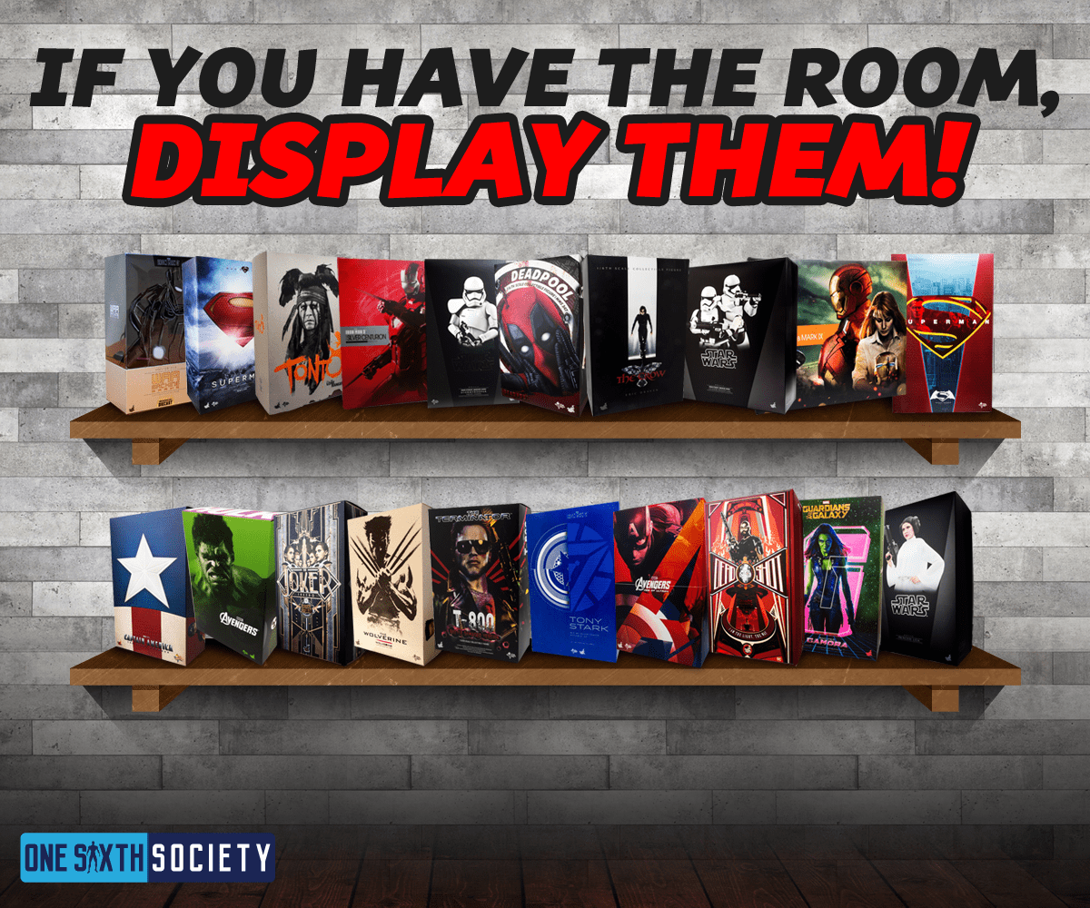 if you have the room then display your hot toys boxes