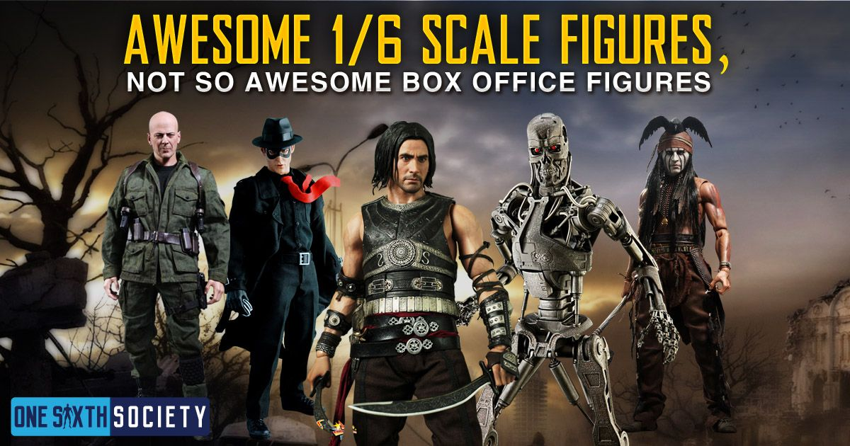 5 Hot Toys Figures from Films that Bombed