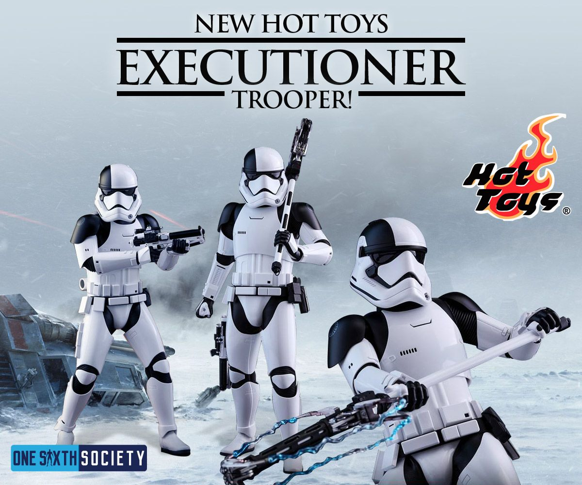 Check Out the new Hot Toys Star Wars Executioner Figure