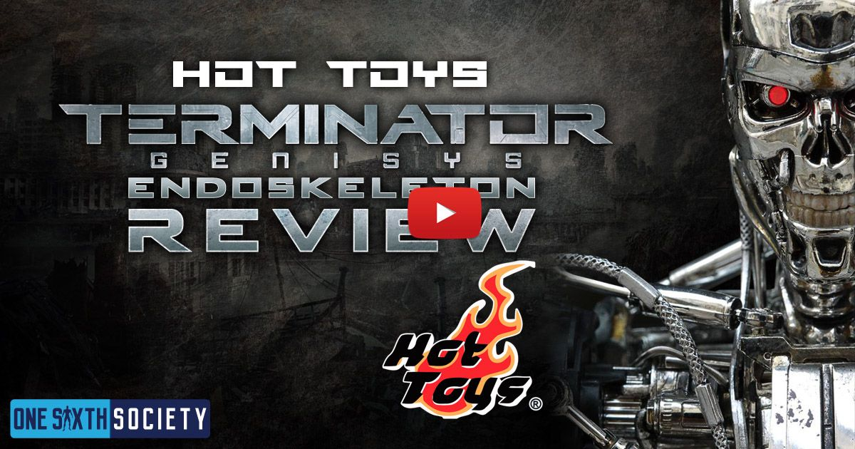 Hot Toys Terminator Genisys Endoskeleton Review