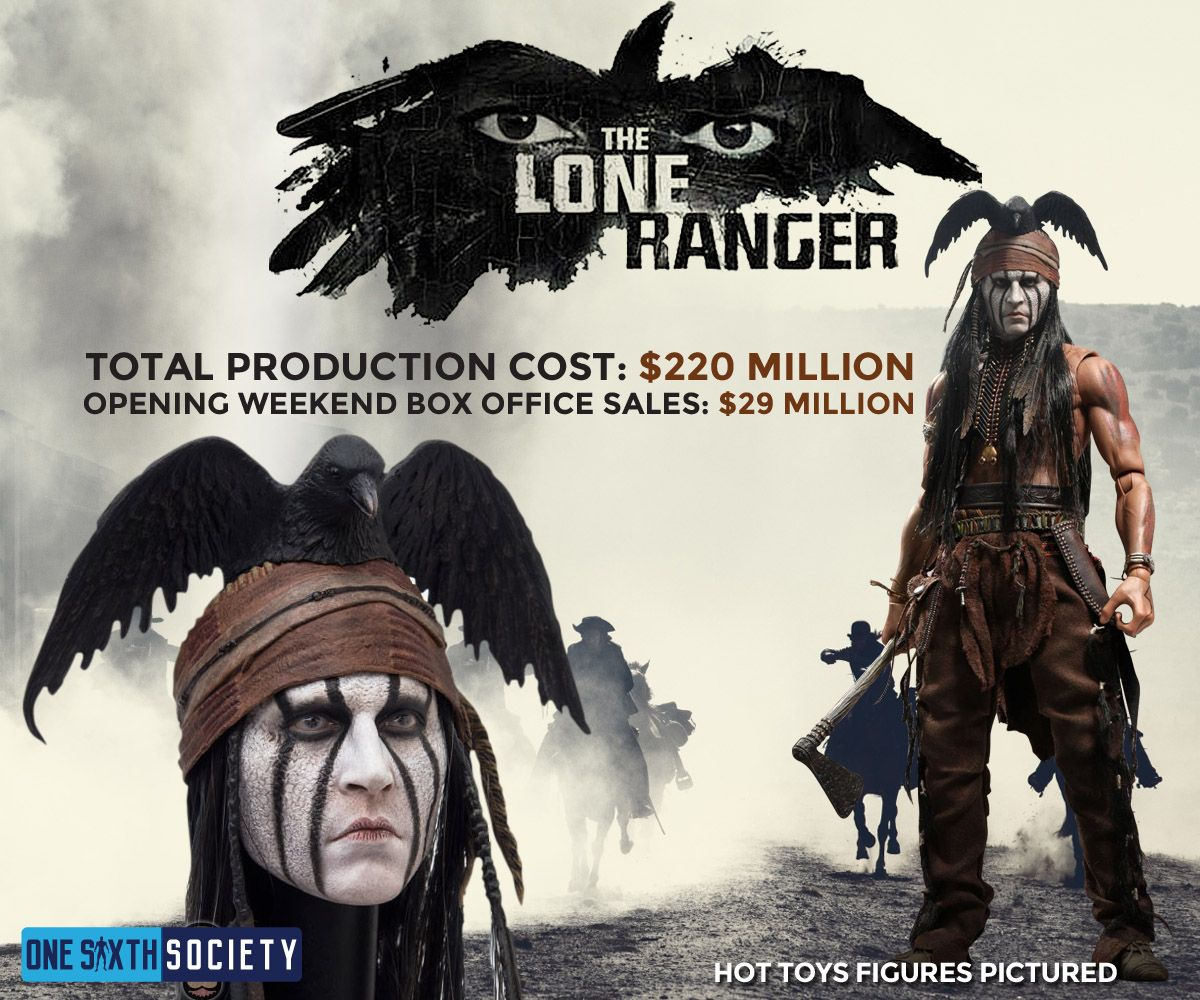 The Hot Toys The Lone Ranger Figure Has One of the Best Head Sculpts