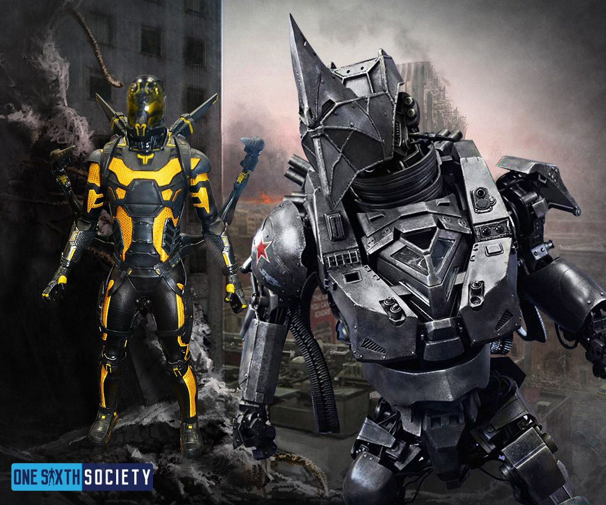 Will We Ever see the Hot Toys Yellow Jacket And Spiderman Rhino figures