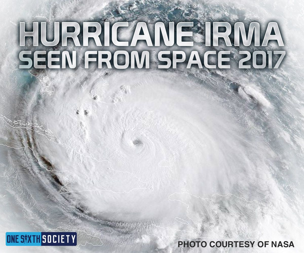 Amazing Image of Hurricane Irma From Space