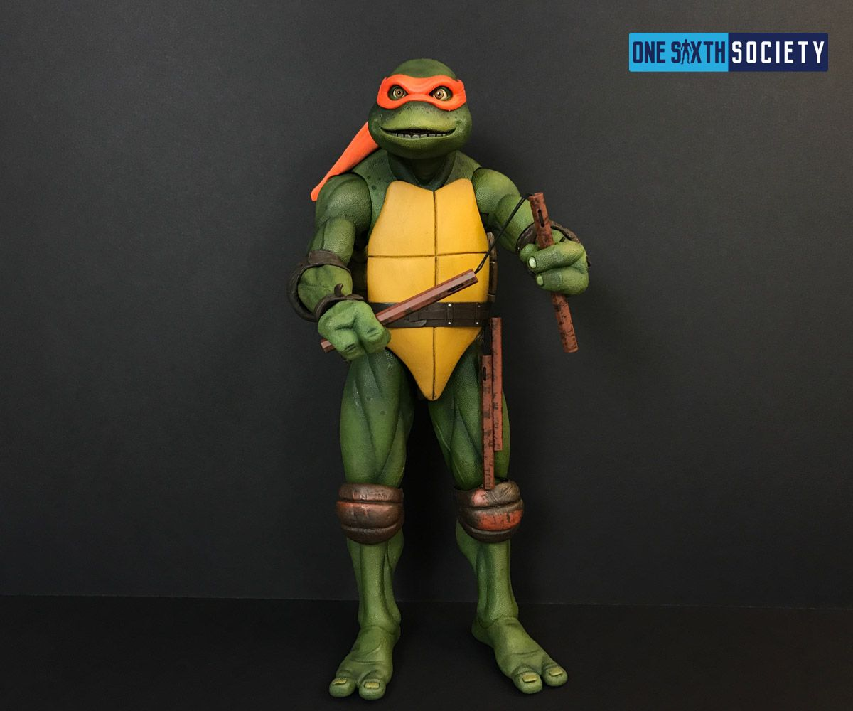 The NECA Michelangelo is Totally Awesome!