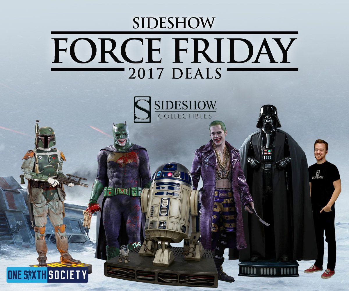 Sideshow Collectibles is offering Free Global Shipping!