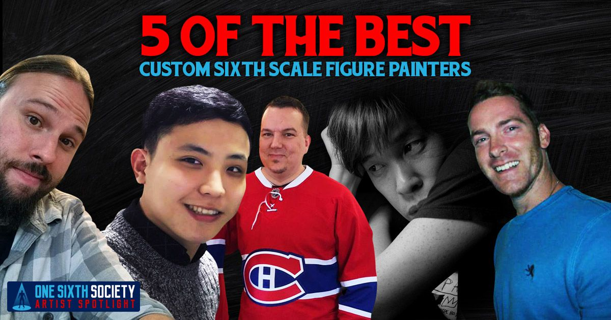 5 of The Best Custom Sixth Scale Painters