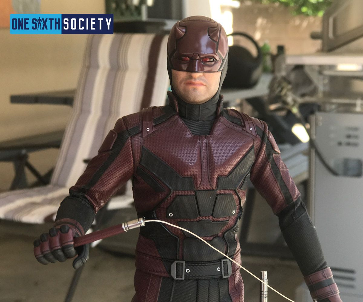 One Sixth Society is happy to finally see the Hot Toys Daredevil Figure released
