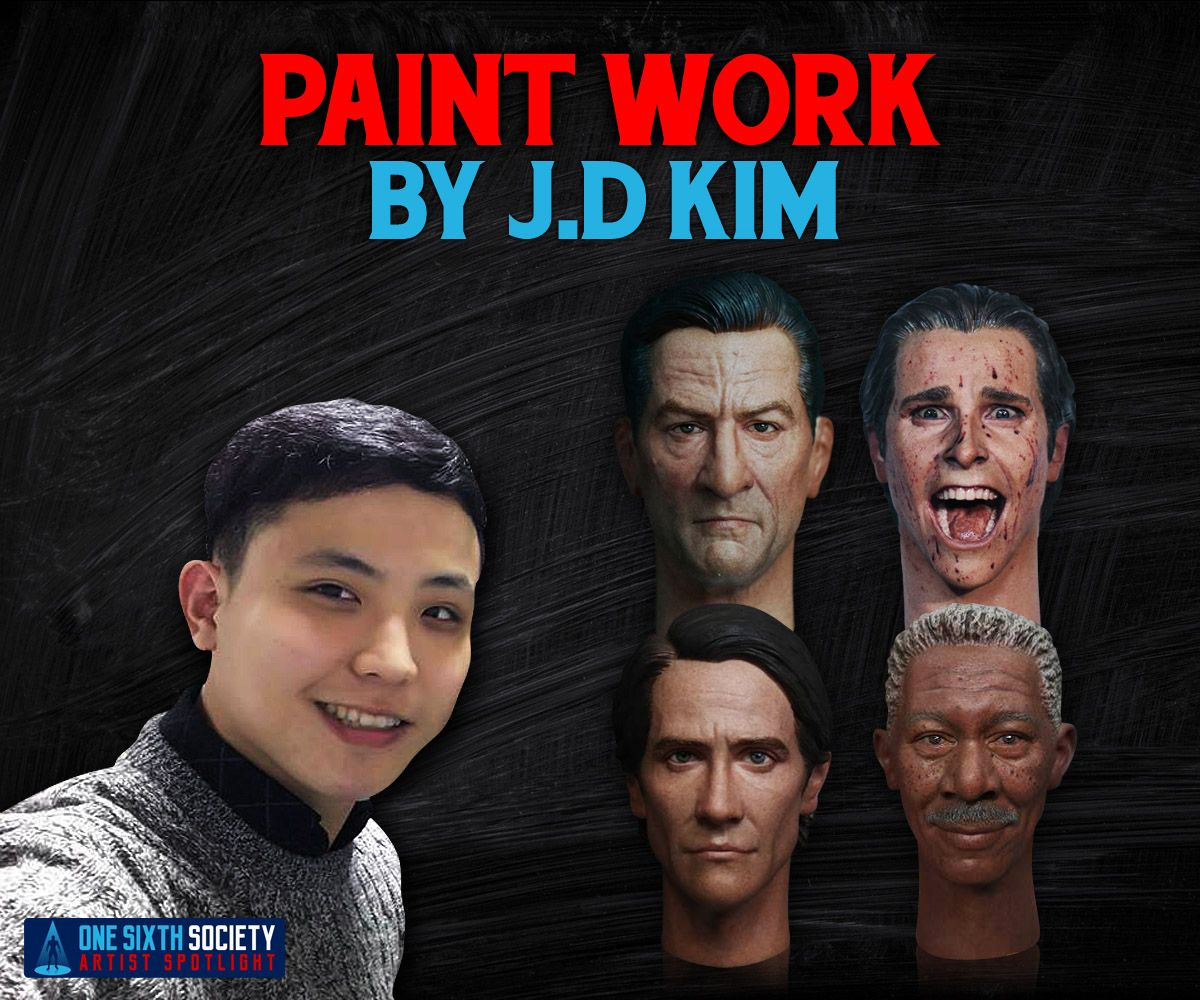J.D Kim is One of the Best Sixth Scale Figure Painters in the World