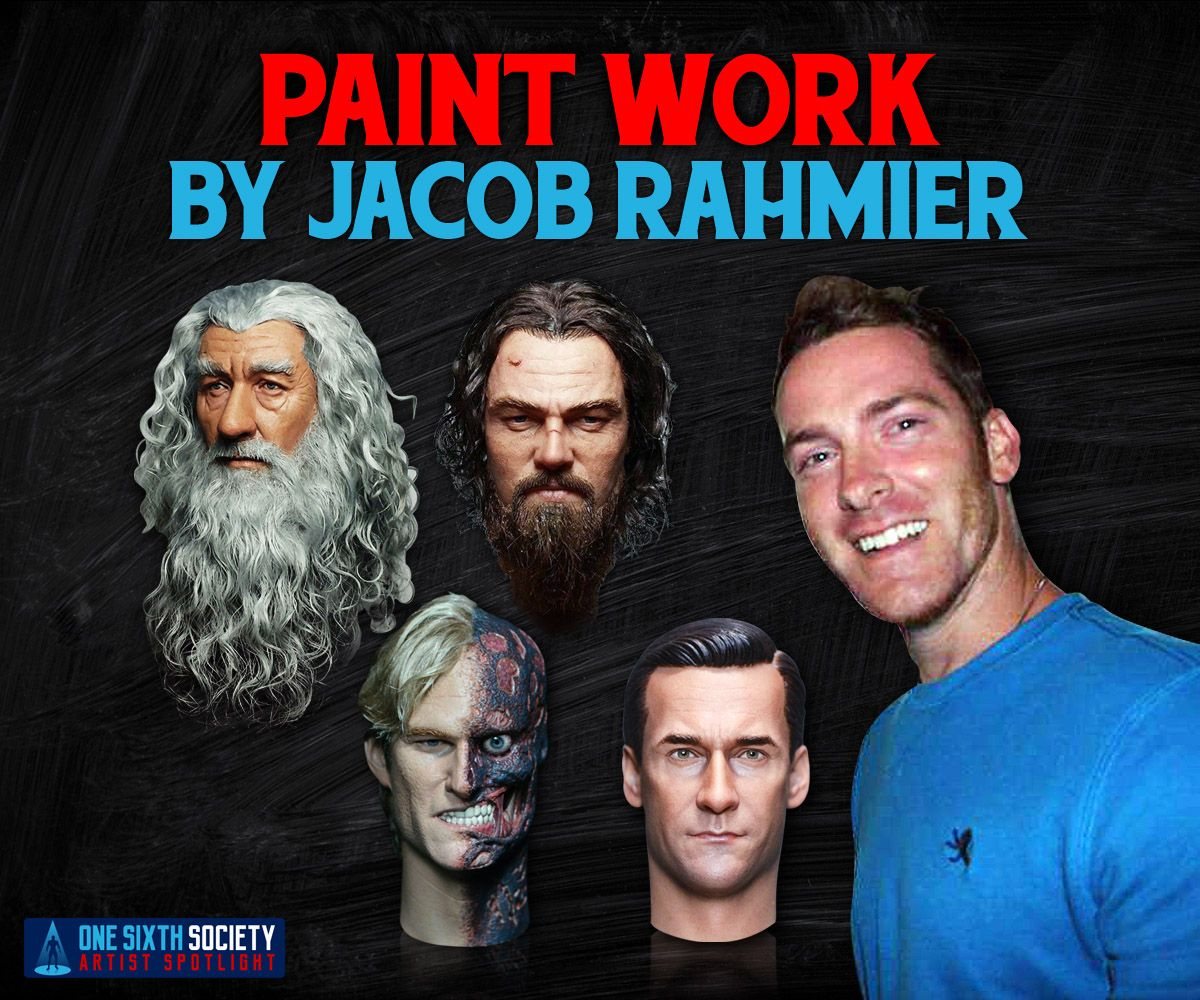 Jacob Rahmier is easily the best custom sixth scale figure painter in the hobby