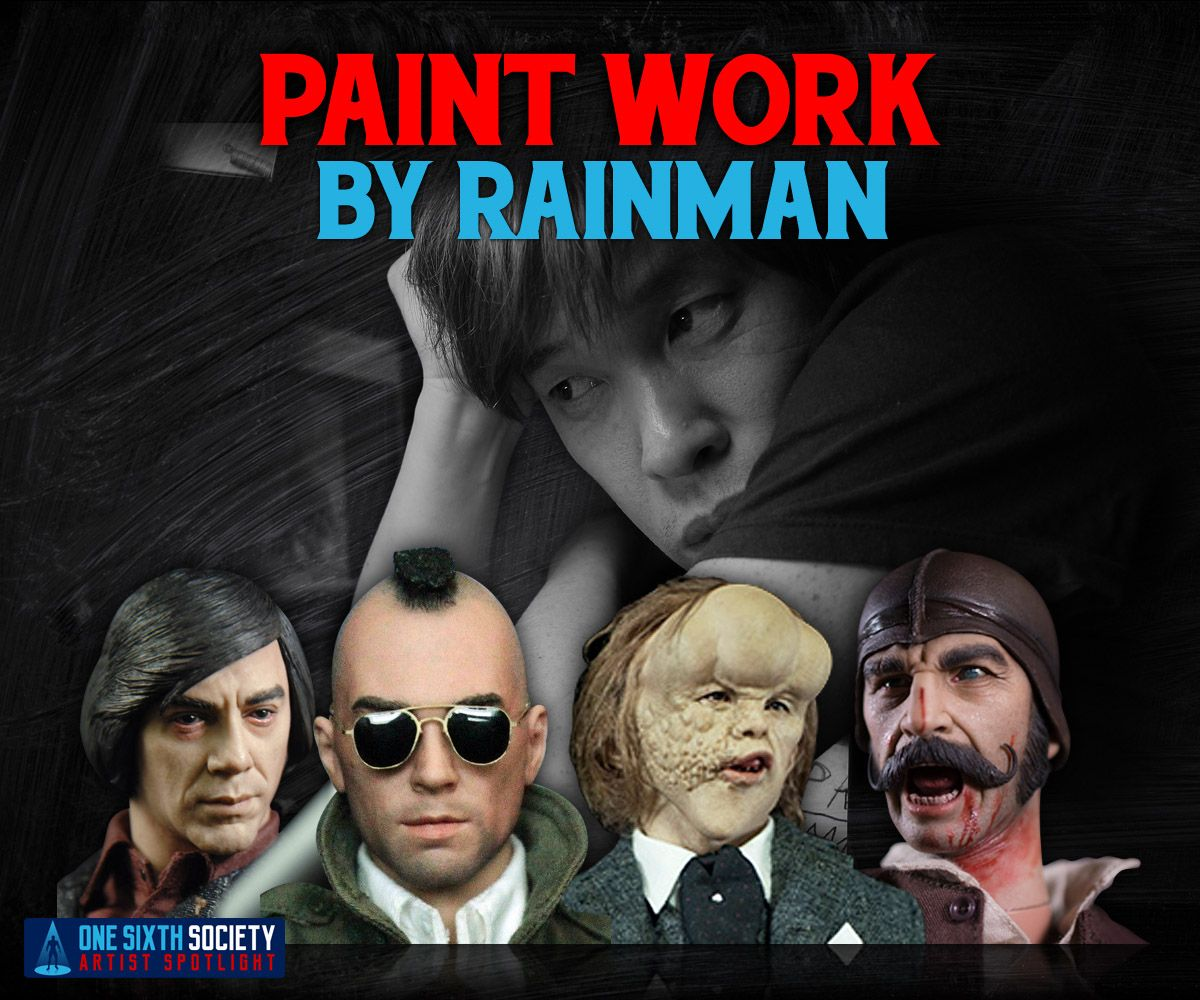 Rainman creates works of art with his figure painting