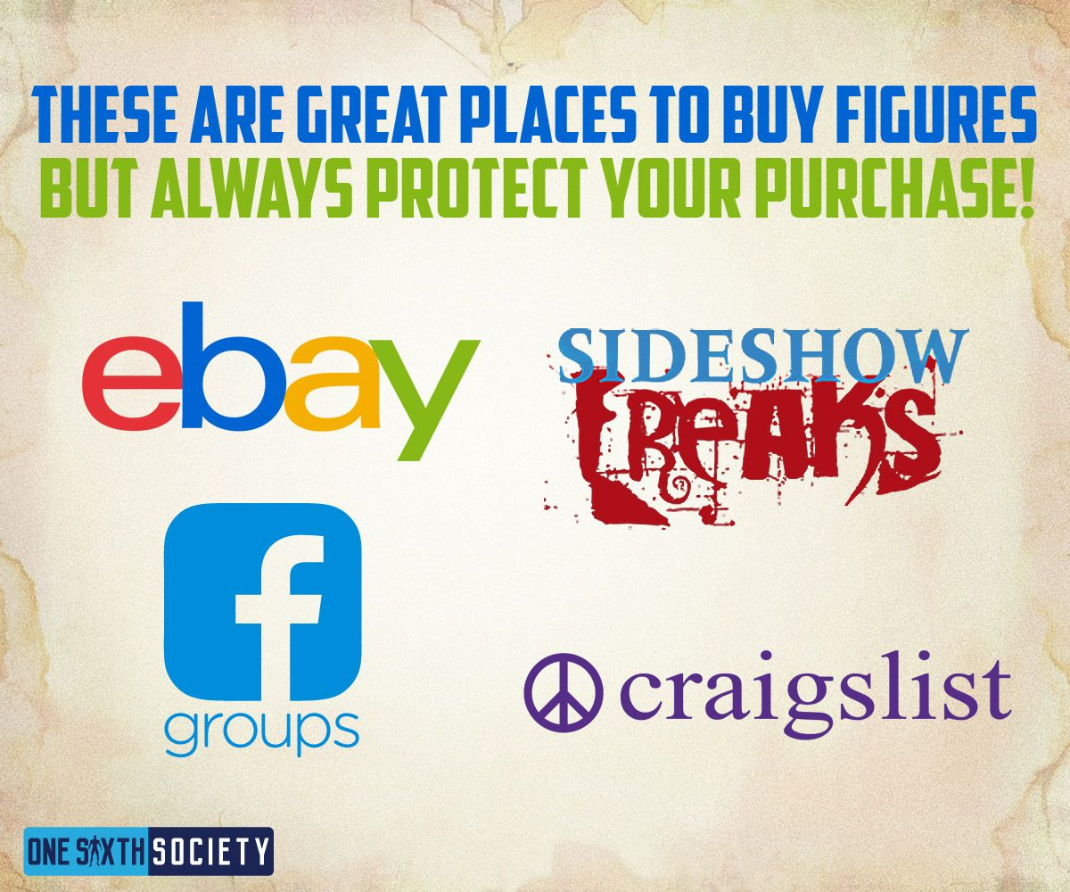 Sideshow Freaks is a Great Place to Buy Used Figures