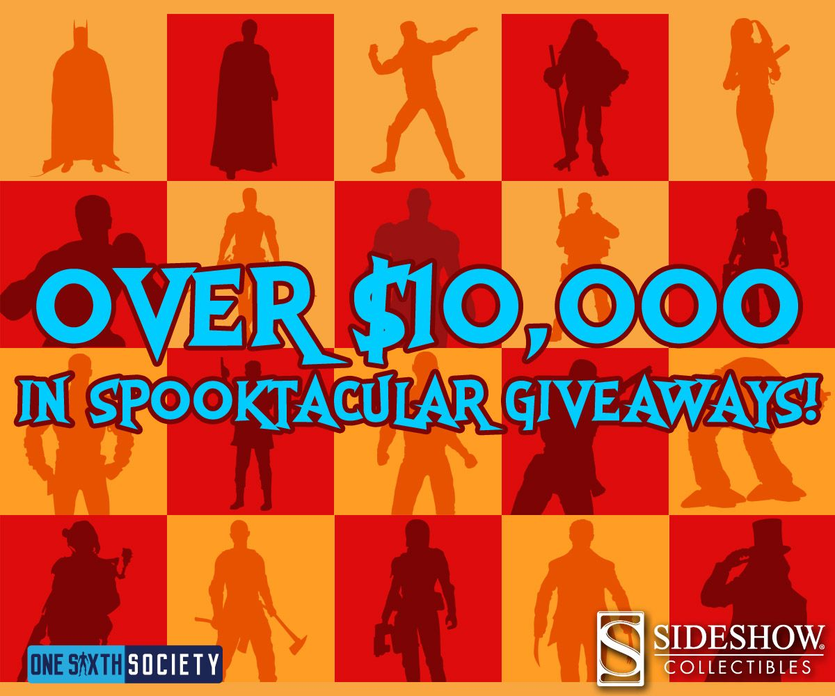 Sideshow is Giving Away over $10,000 in Prizes!