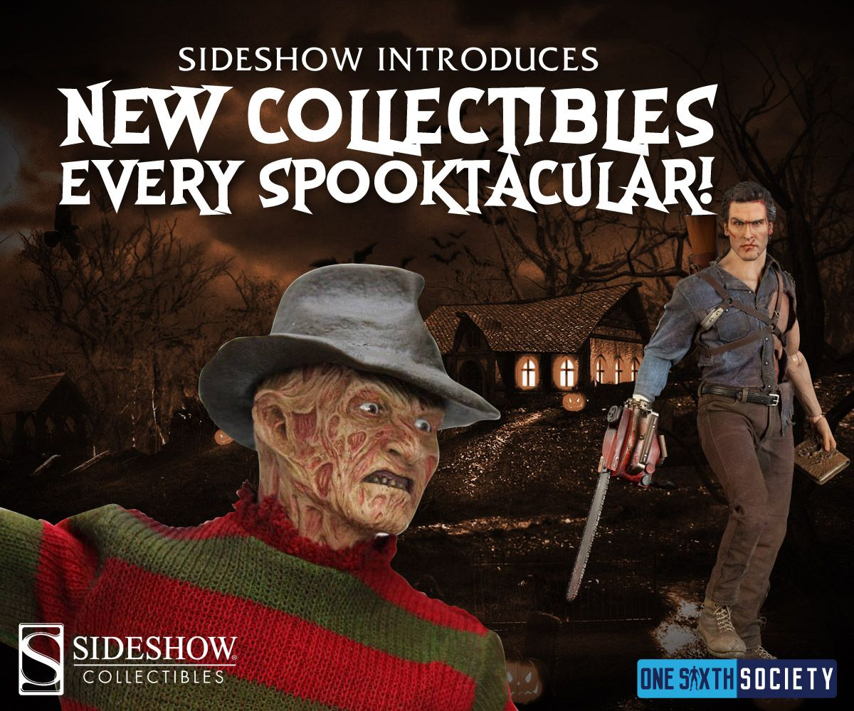 Check Our These Awesome Sideshow Spooktacular Deals