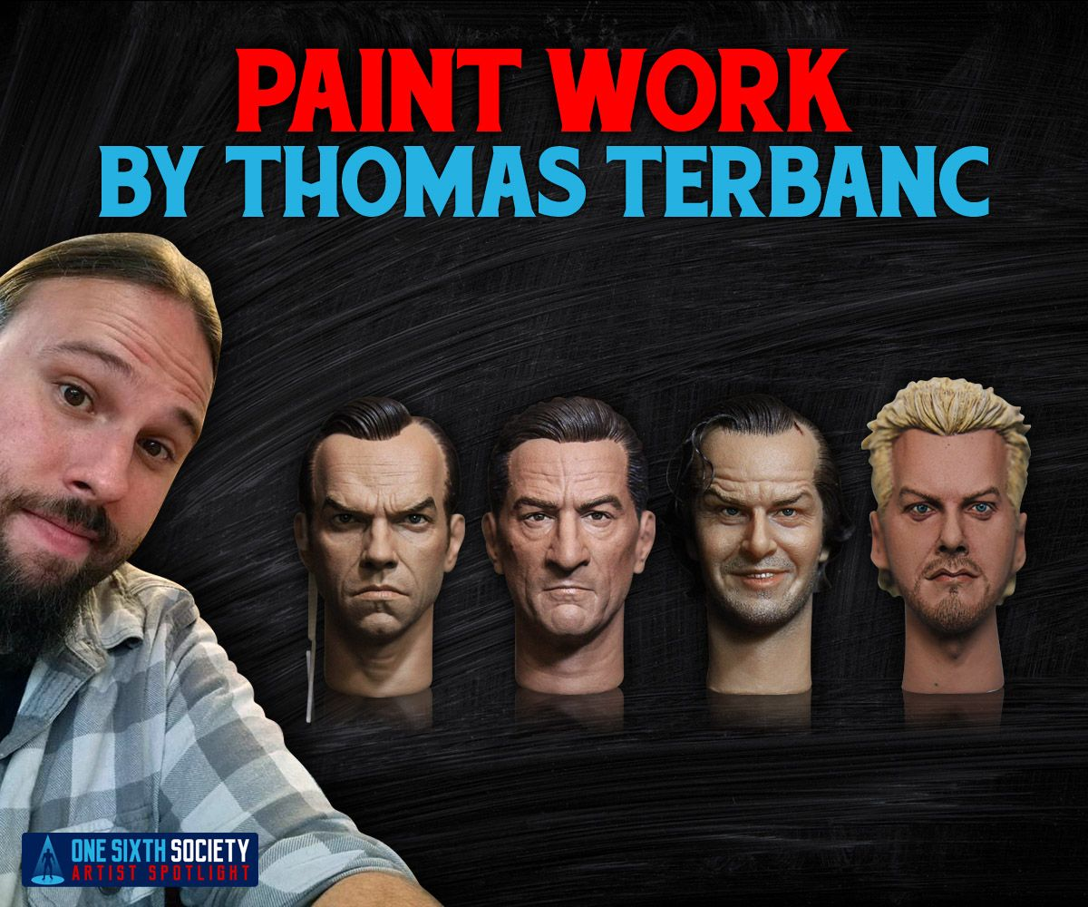 Thomas Terbanc has painted some amazing sixth scale figure head sculpts in his time