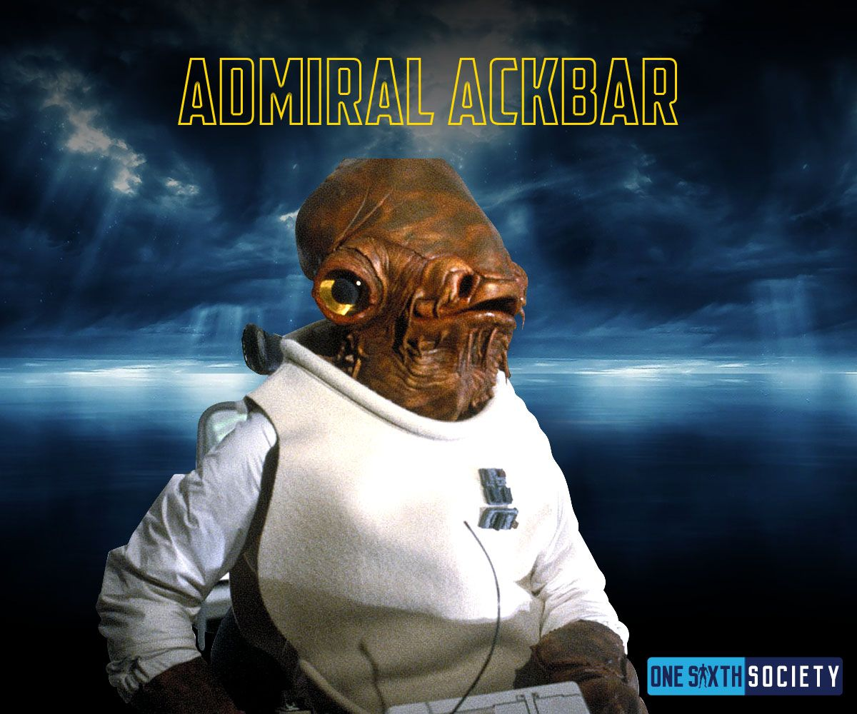 Hot Toys needs to make a Admiral Ackbar Figure