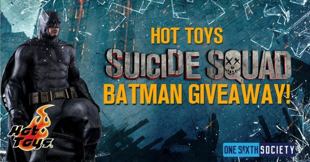 Enter Now for a Chance to Win a Hot Toys Suicide Squad Batman Figure!