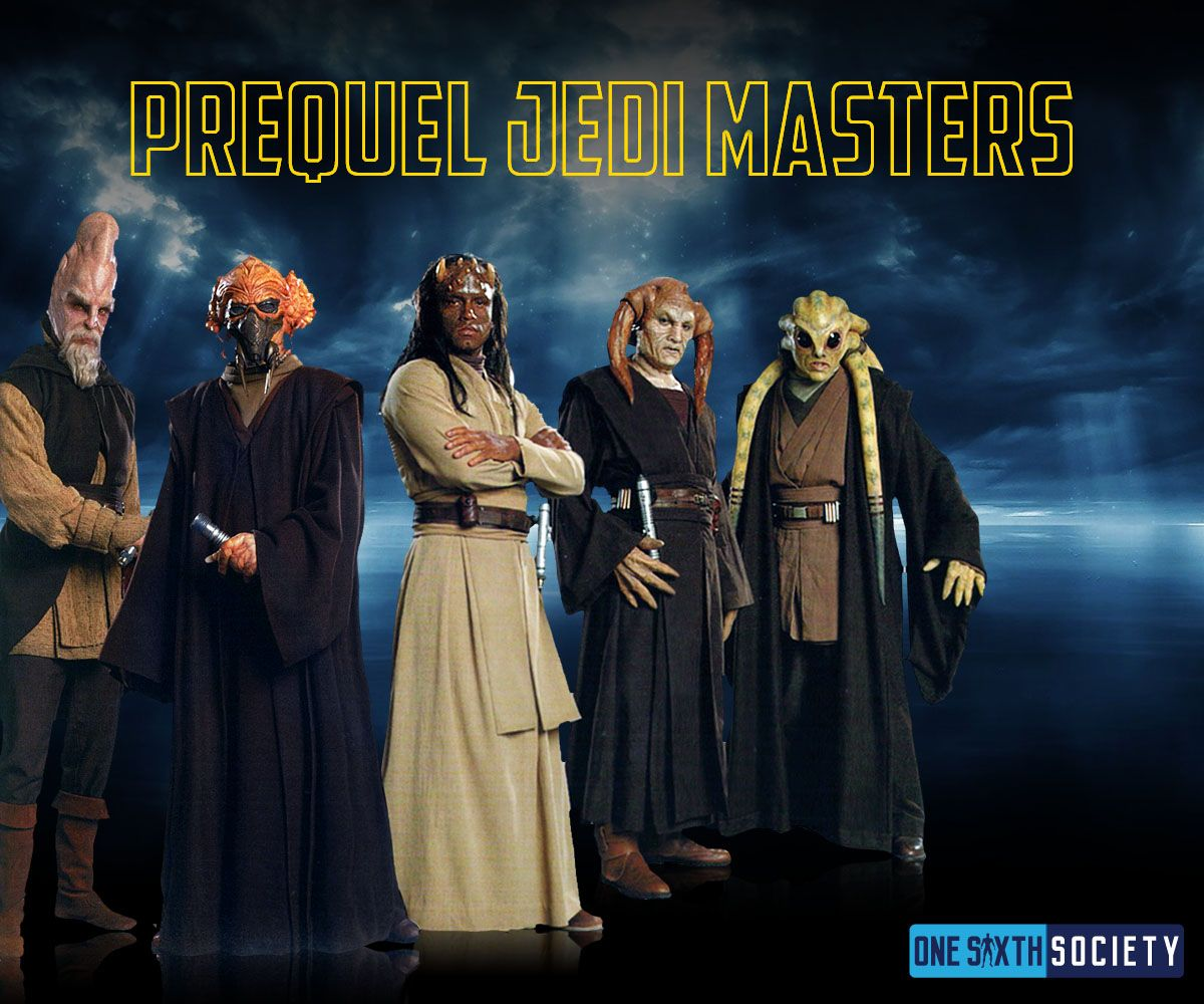 No one should forget the old school Jedi Masters