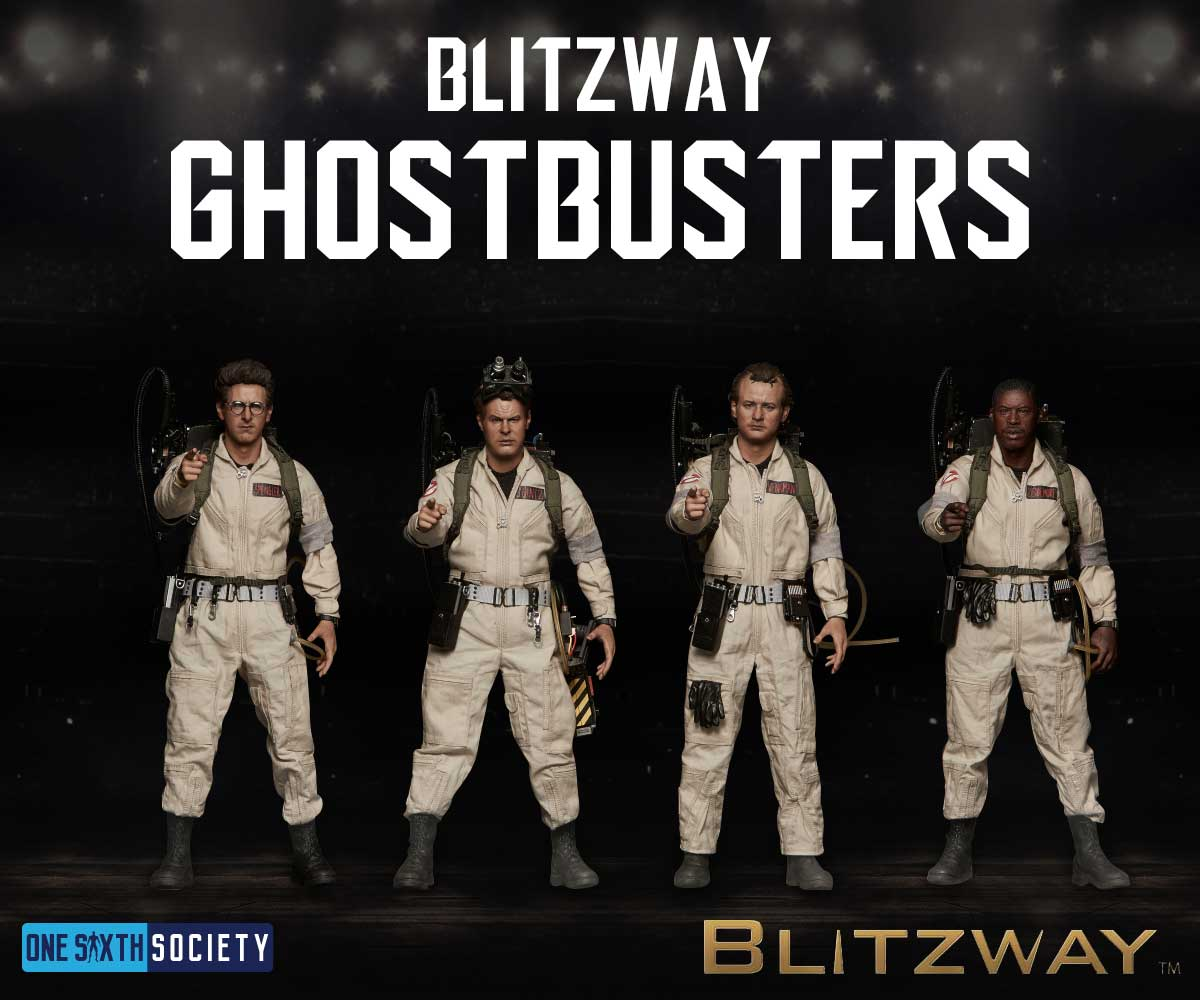 The Blitzway Ghostbusters figures are a true contender for figure of the year 2017