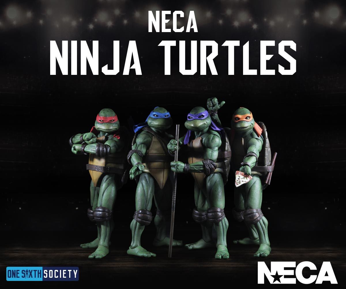 The NECA Ninja Turtles are one of the best set of figures for 2017