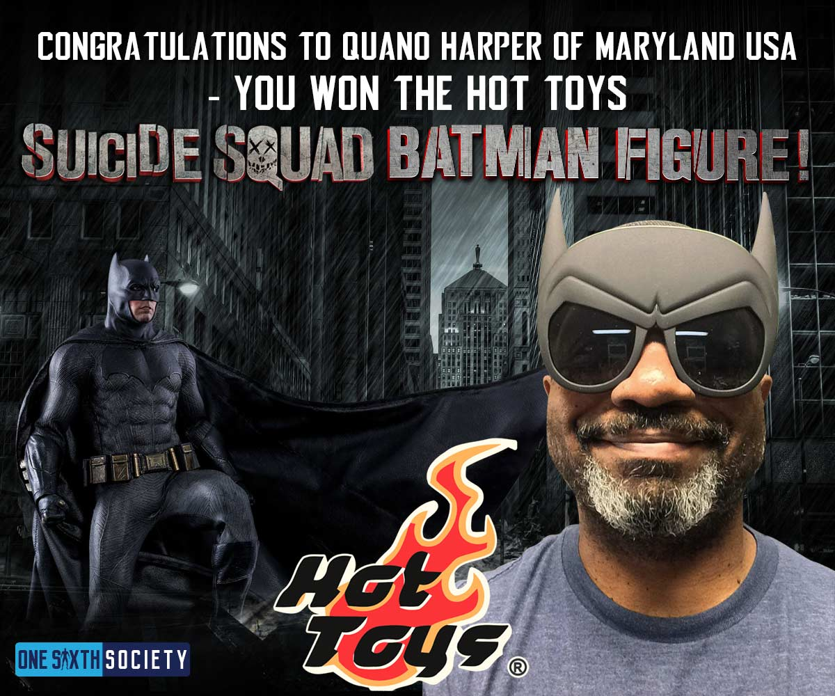 Congratulations Quano Harper Of Maryland USA, You Won!