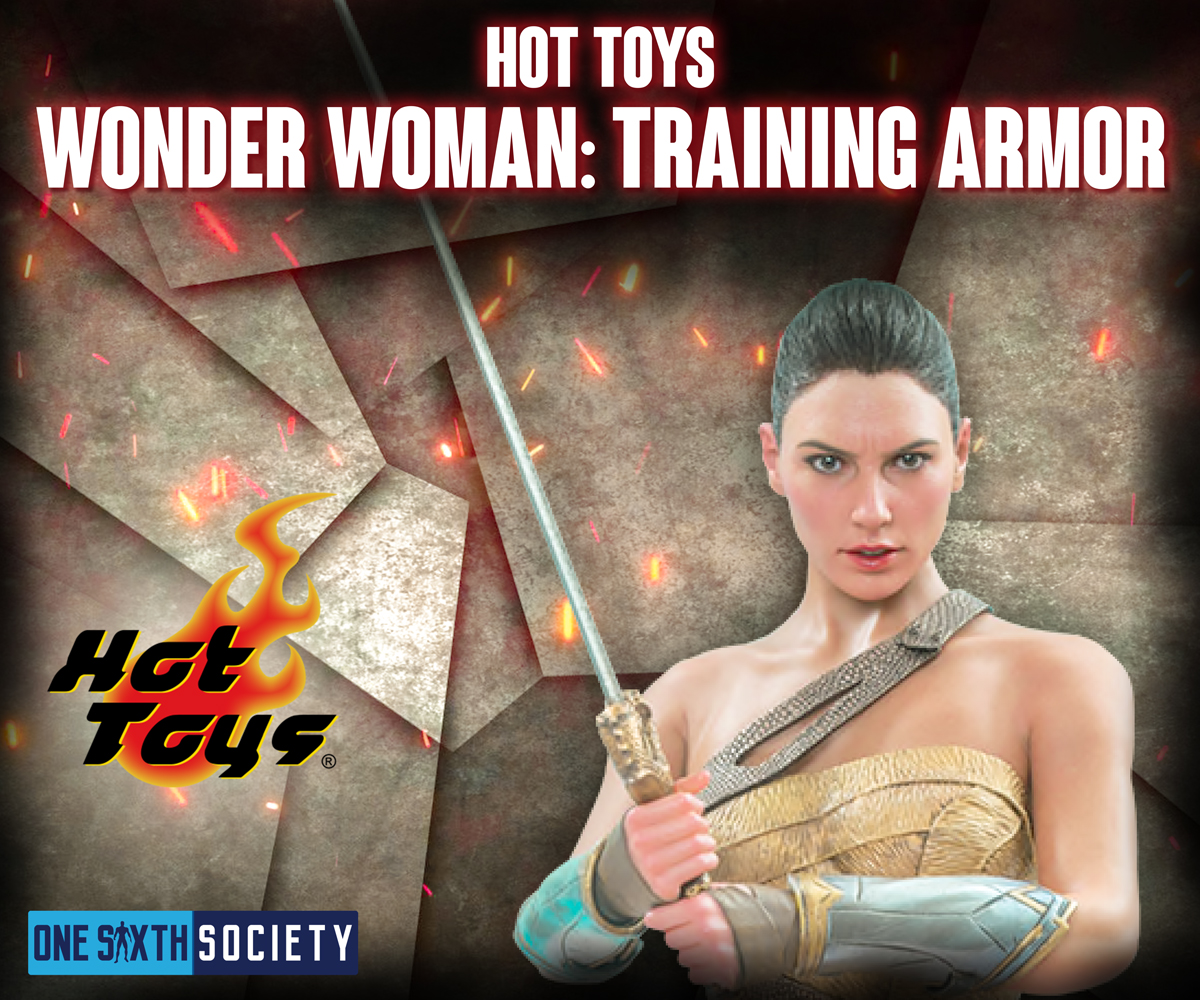 Hot Toys Woman Woman Training Suit