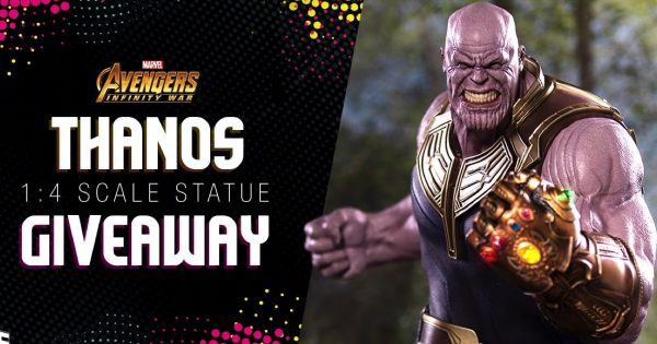 Iron Studios 1/4 Scale Thanos Statue Giveaway!